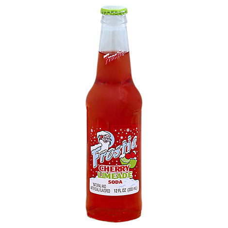 Frostie Cherry Limeade - 12 oz (12 Glass Bottles)