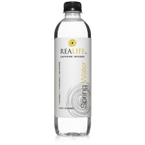 REALIFE Caffeinated Water 16.9 OZ