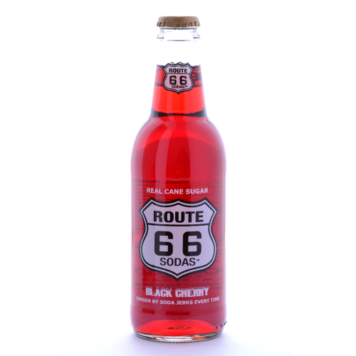 Route 66 Black Cherry - 12 oz (12 Pack) - Beverages Direct