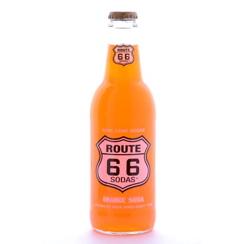 Route 66 Orange Soda - 12 oz (12 Pack) - Beverages Direct