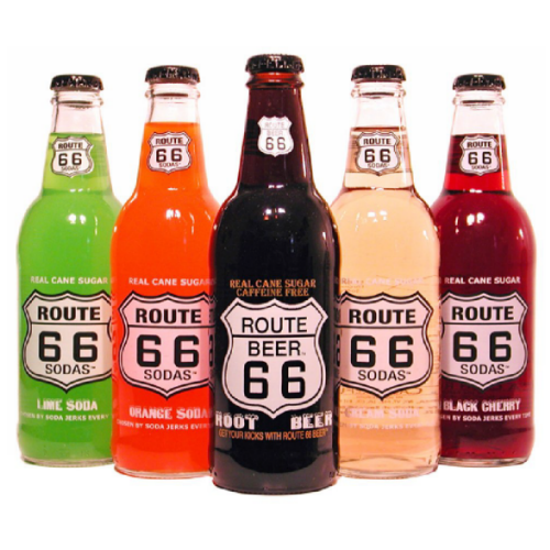 Route 66 Soda Sampler - 12 oz (12 Pack) - Beverages Direct