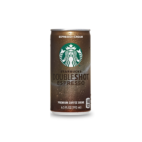 Starbucks DoubleShot Espresso & Cream - 6.5 oz. Cans (12 Pack) - Beverages Direct