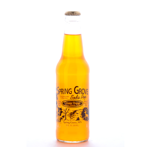 Spring Grove Creamy Orange - 12 oz (12 Pack) - Beverages Direct