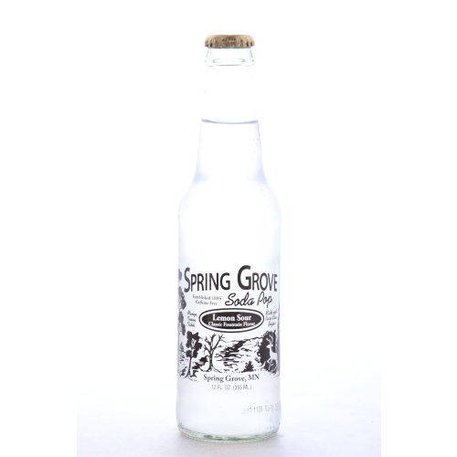Spring Grove Lemon Sour - 12oz (12 Pack) - Beverages Direct