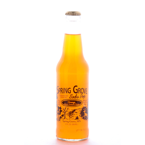 Spring Grove Orange - 12 oz (12 Pack) - Beverages Direct