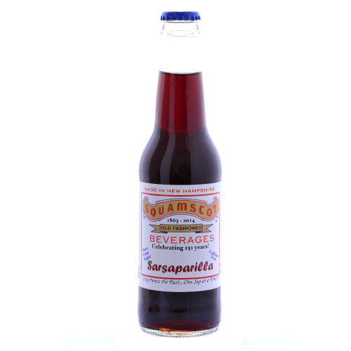 Squamscot Sarsaparilla Soda - 12 oz (12 Pack)