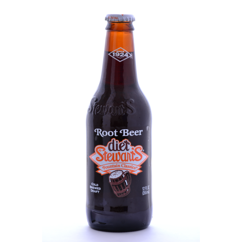 Stewart's Diet Root Beer  - 12 oz (12 Pack) - Beverages Direct