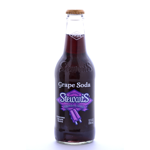 Stewart's Grape Soda - 12 oz. (12 Pack) - Beverages Direct