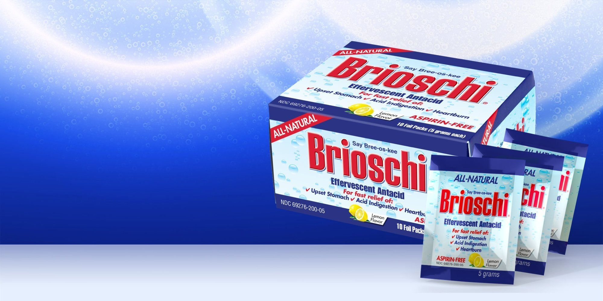 Brioschi Travel Packets