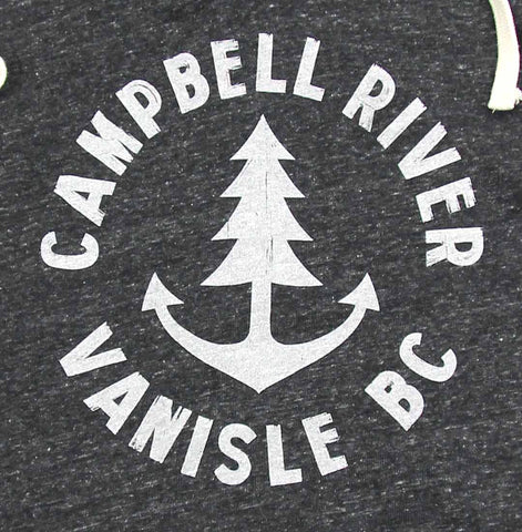 Adult Unisex Anchor Tree Campbell River Hoodie