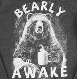 Unisex Bearly Awake crew-neck fleece sweater