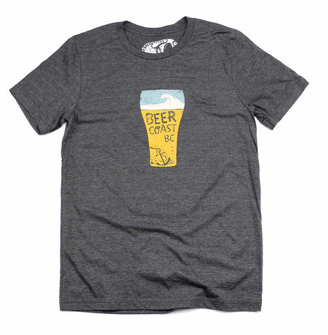Unisex Beer Coast  T-shirt