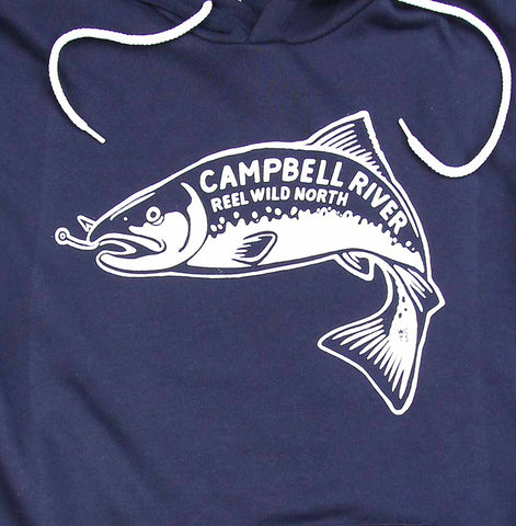 Adult Unisex Campbell River Reel Wild North Hoodie