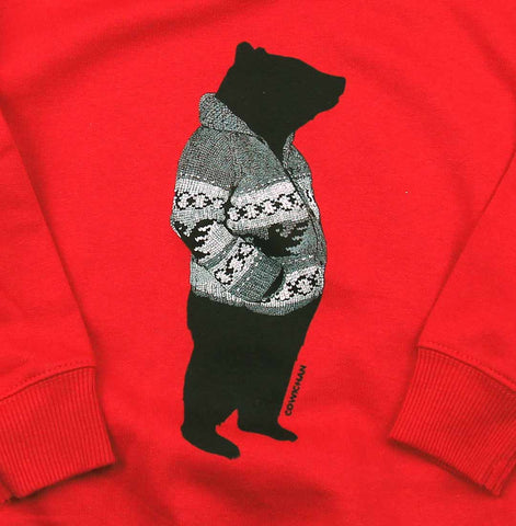 Cowichan Bear toddler pullover hoody