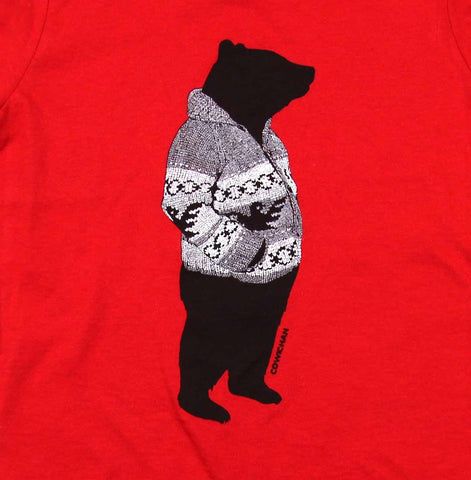 Kids Cowichan Bear T-shirt