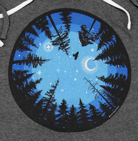 Eye of The Forest Ladies long hoody