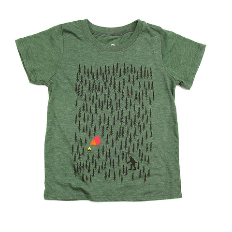 Kids Forest Camping T-shirt