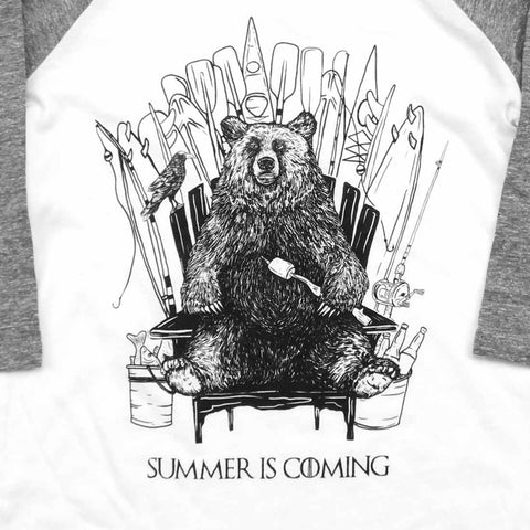 GOT Summer is Coming Raglan