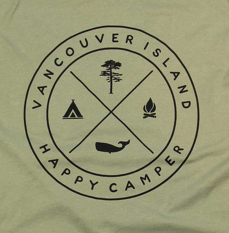 Adult Unisex Happy Camper VI T-shirt