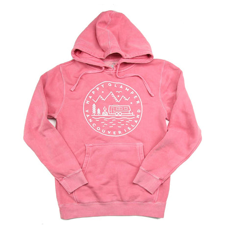 Adult Women's Happy Glamper Hoodie