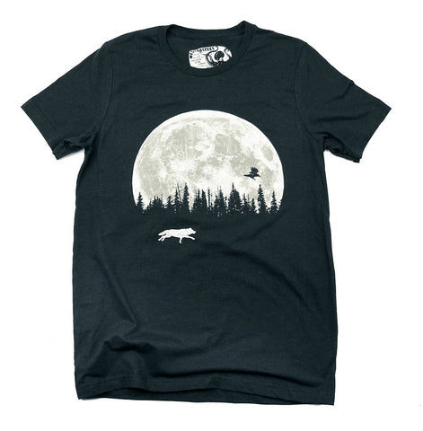 Adult Unisex Supermoon Hunting Buddies T-shirt