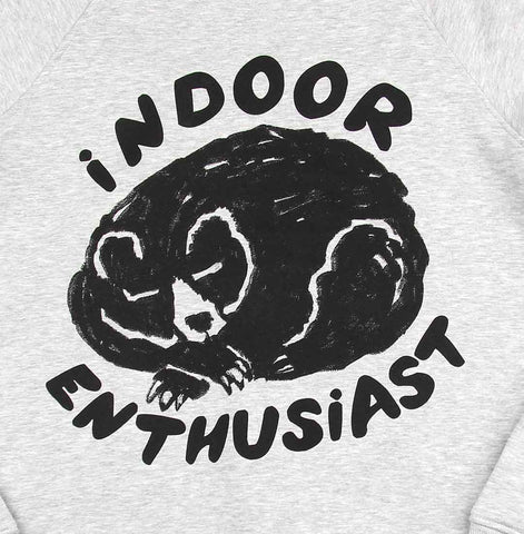 Unisex Indoor Enthusiast crew-neck fleece sweater