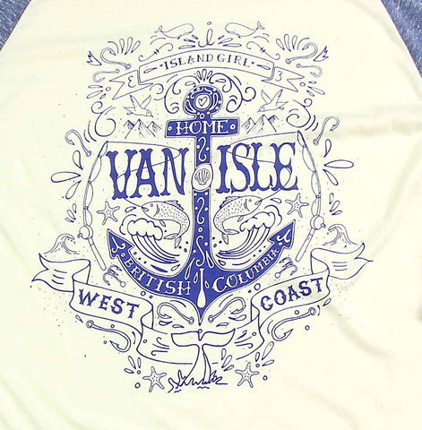 Women's Island Girl Raglan