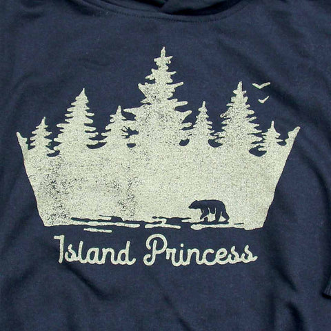 Island Princess toddler pullover hoodie