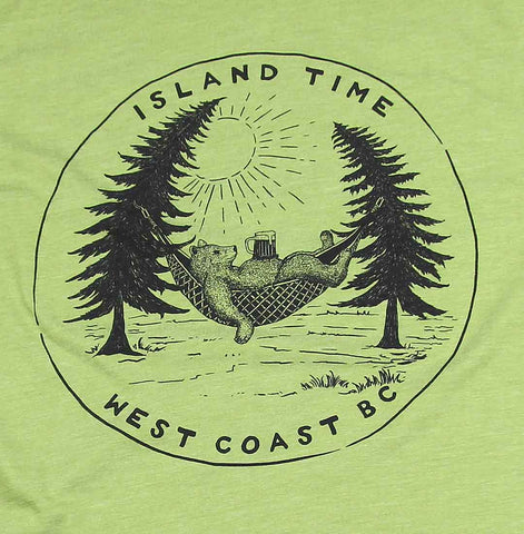 Adult Unisex Island Time T-shirt