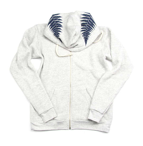 Island Girl Fern Zip Up Women's Hoodie