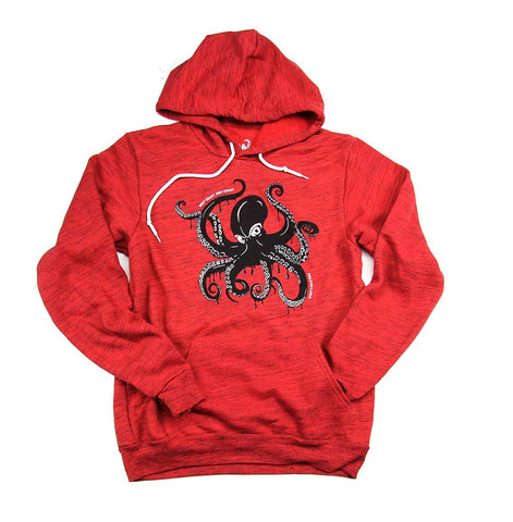 Adult Unisex Giant Pacific Octopus Hoodie