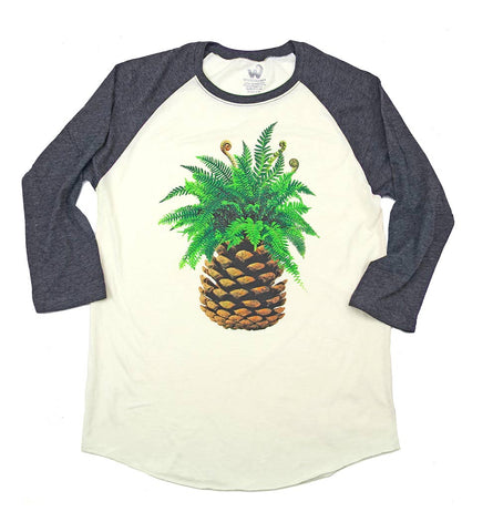 Women's West Coast Pineconeapple Raglan
