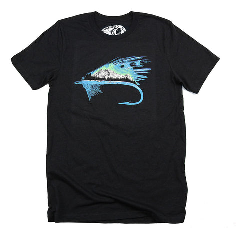 Adult Unisex River Fly T-shirt