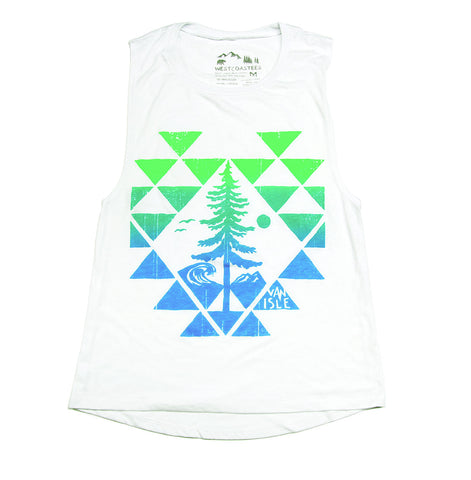 Sitka Beach Ladies Muscle Tank