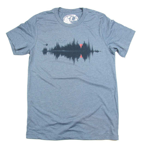 Adult Unisex West Coast Soundwave T-shirt