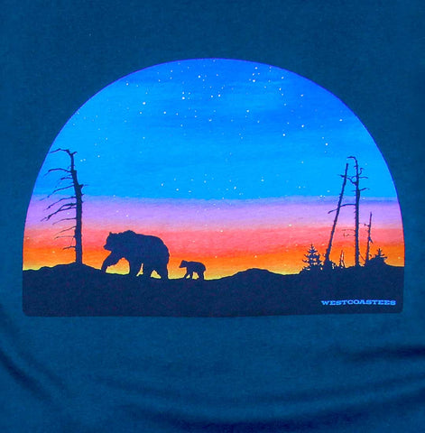 Adult Unisex Sunset Ridge T-shirt