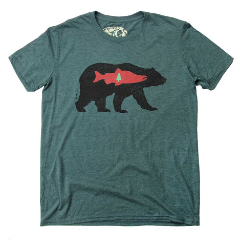 Adult Unisex Tree Bear T-shirt
