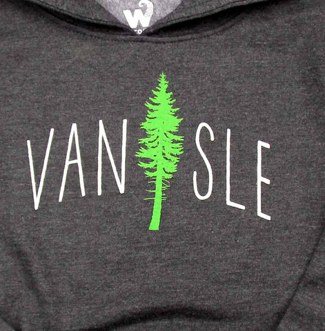 Van Isle Cedar Tree youth pullover hoody