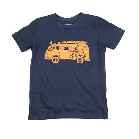 Kids Van Isle Bus T-shirt