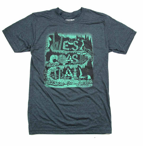 Adult Unisex West Coast Trail T-Shirt