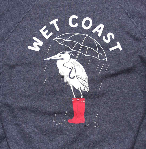 Wet Coast ladies crewneck sweater