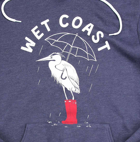 Wet Coast Ladies Hoodie