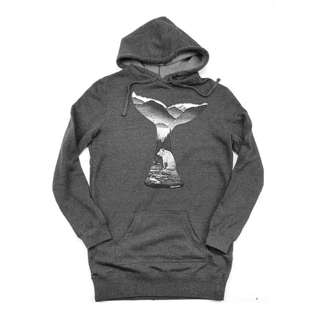 Tale of The Whale Ladies long hoody