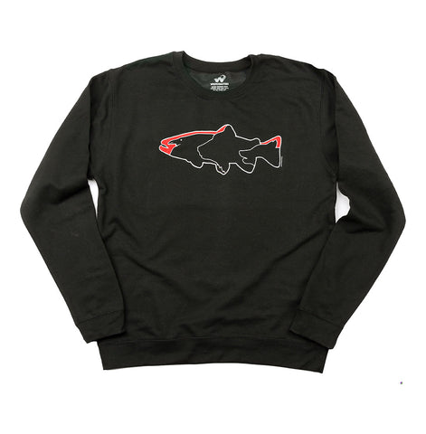 Wild Gang unisex fleece crewneck sweater