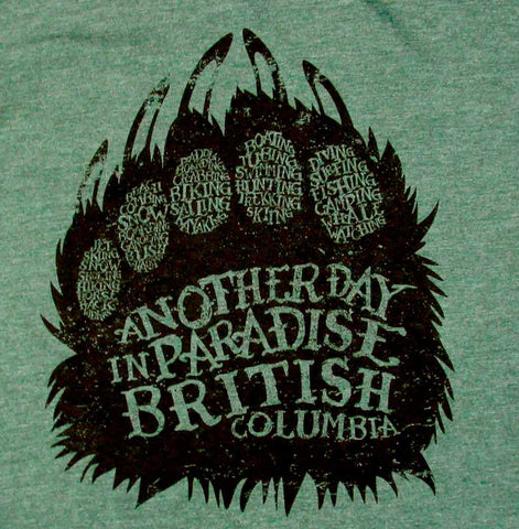 Adult Unisex Bear Paw T-shirt