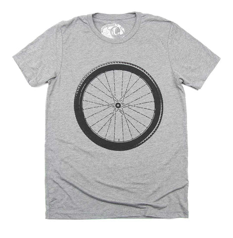 Adult Unisex BC Bike Trails T-shirt