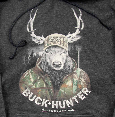 Adult Unisex Buck Hunter Hoodie