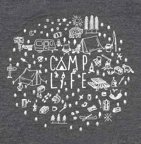 Adult Unisex Camp Life T-shirt