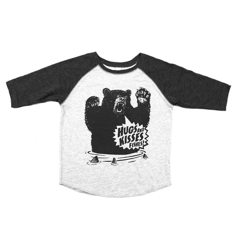 Kids Hugs and Kisses Raglan