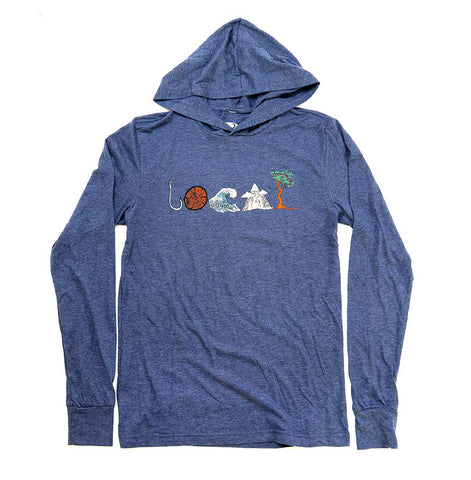 Adult Unisex LOCAL light-weight Hoodie